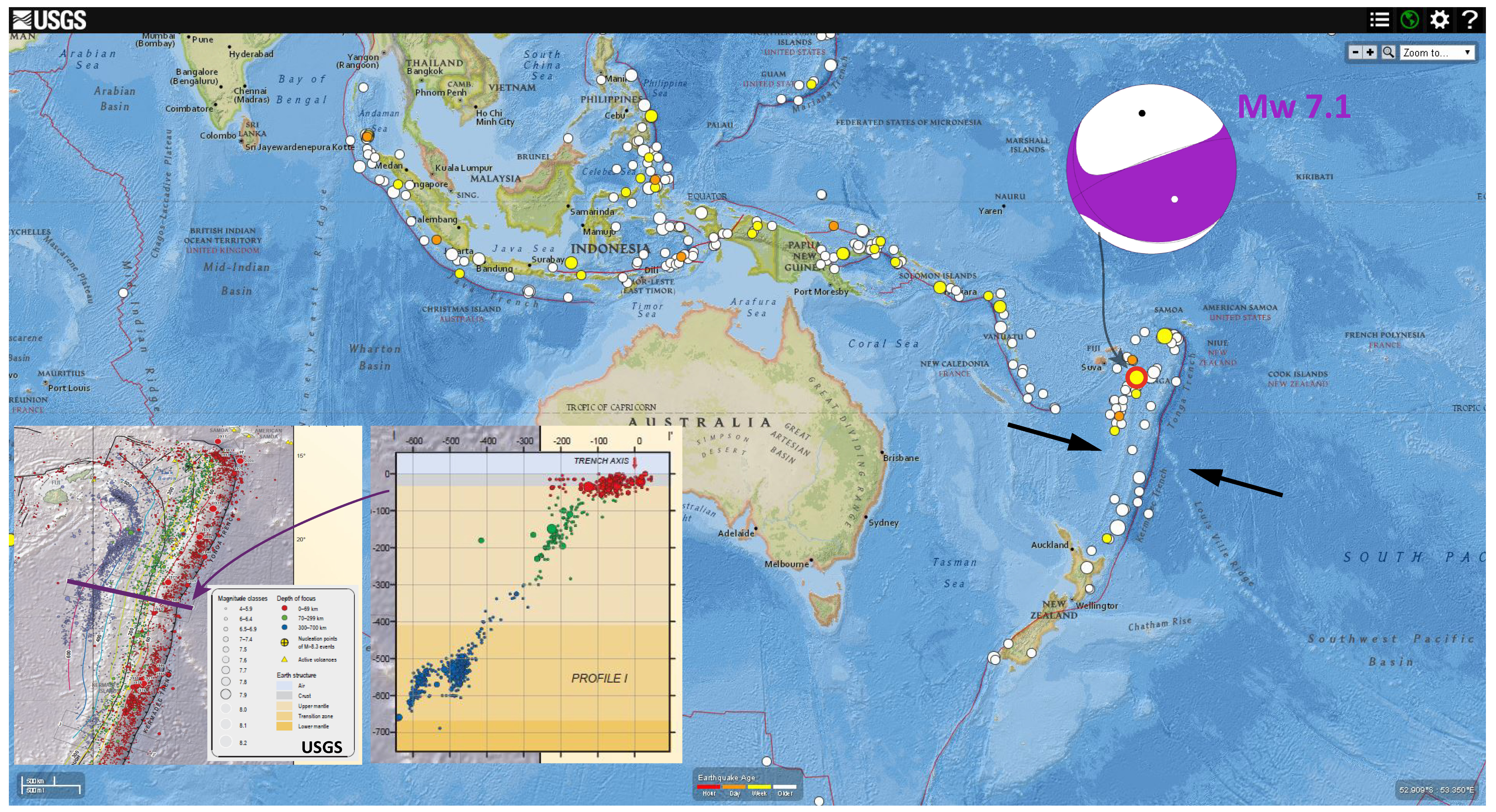 Zone offshore of sumatra as one might expect an earthquake at this depth given this magnitude would not generate strong ground motions gumiabroncs Gallery