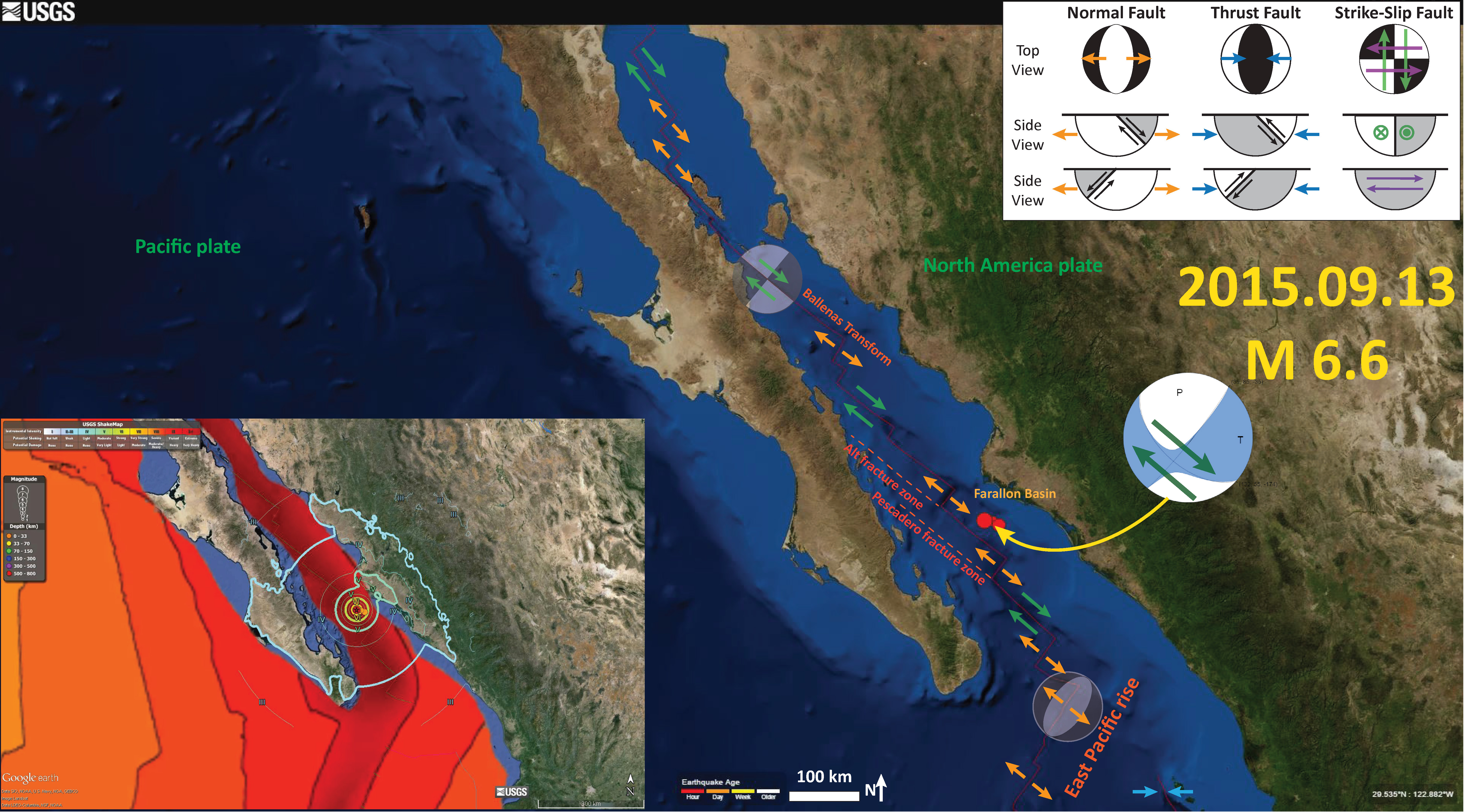 Gulf Of California Earthquakes First Post Jay Patton Online