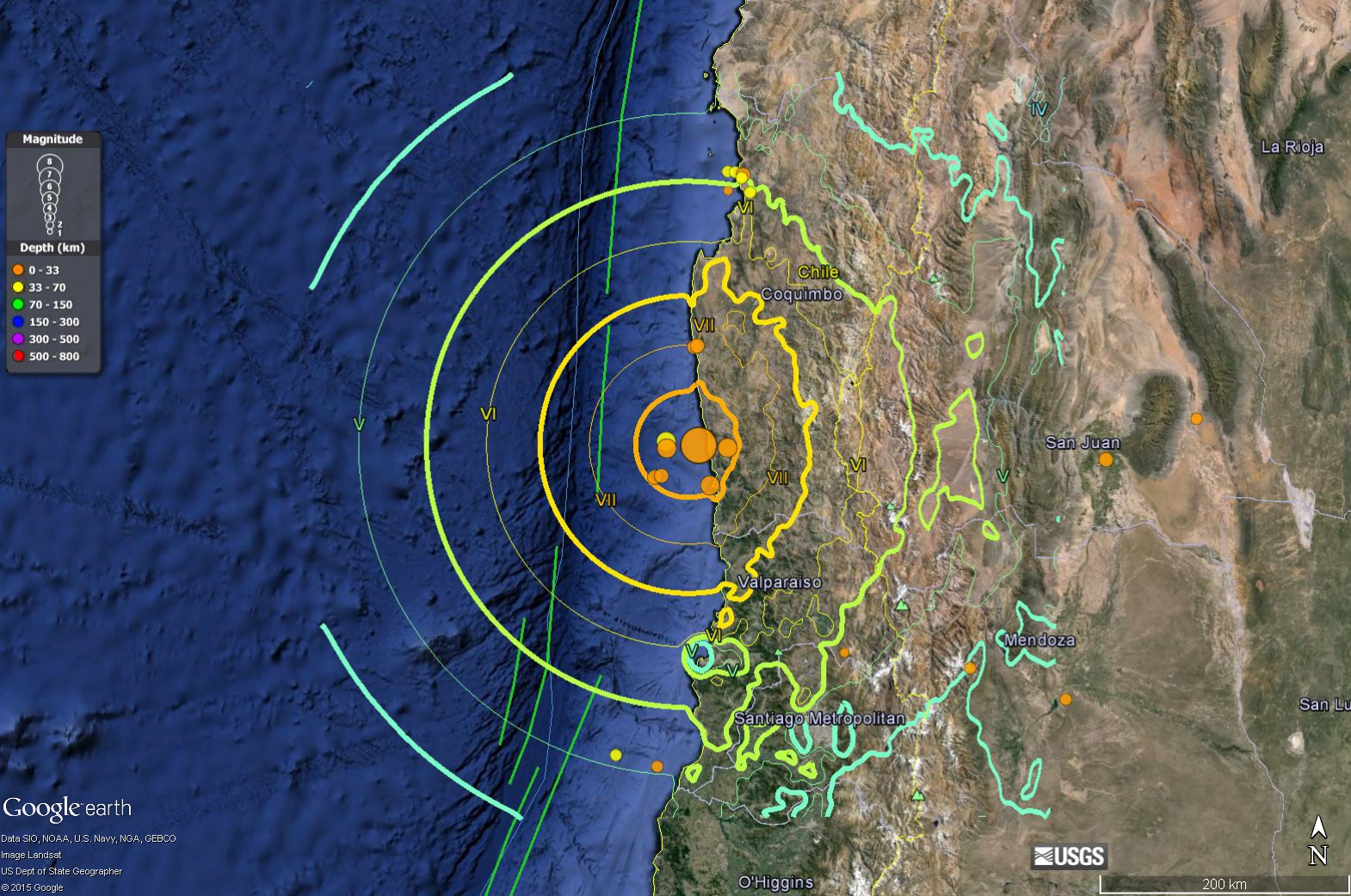 Great Tsunamigenic Earthquake offs Chile! | Jay Patton online on old map of chile, easy map of chile, small map of chile, show map of chile, enlarged map of chile, pretty map of chile,