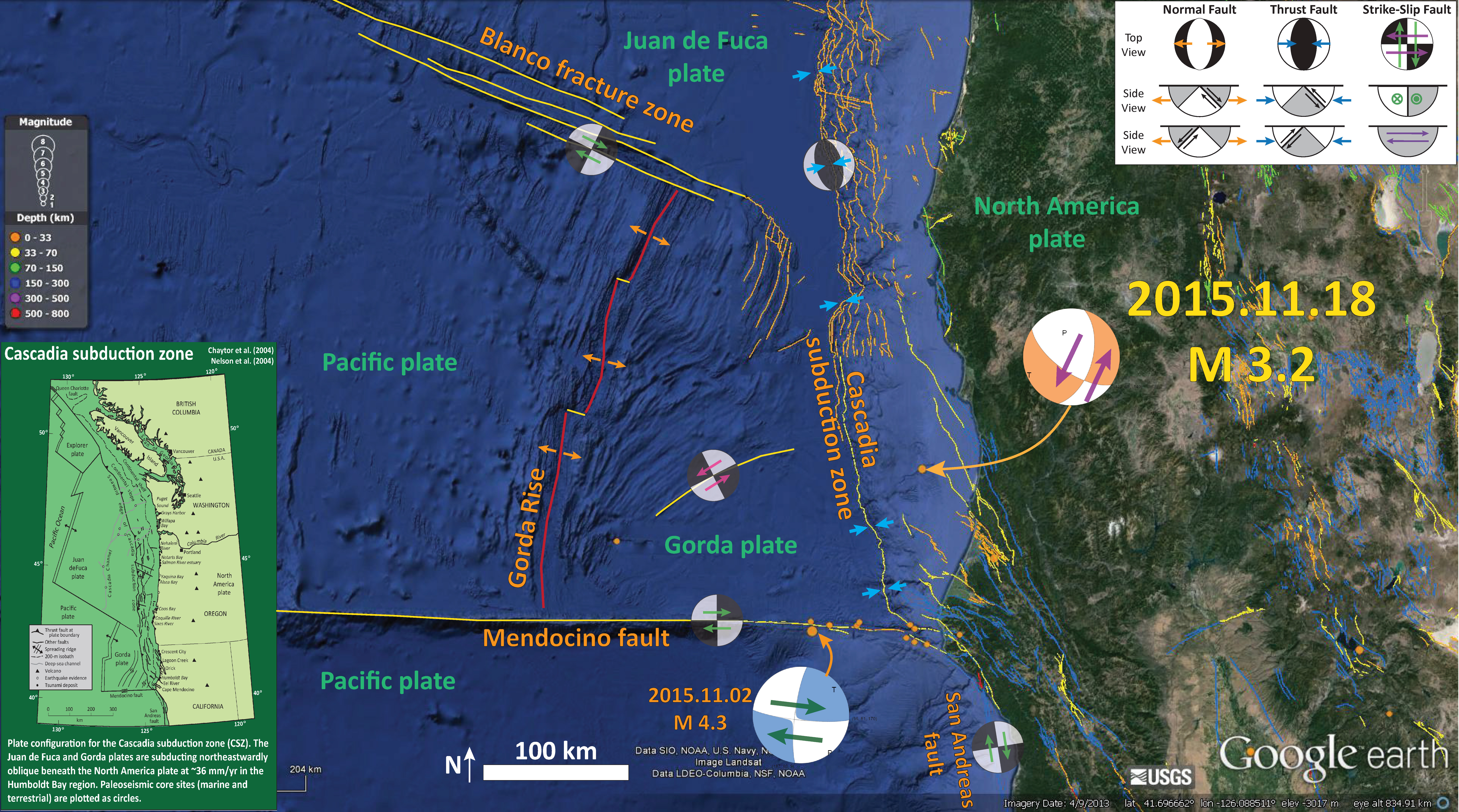 Earthquake Report Humboldt County CA Jay Patton online