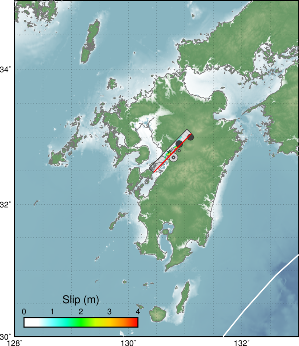Earthquake Report Japan Update Jay Patton Online - Japan quake map 2016