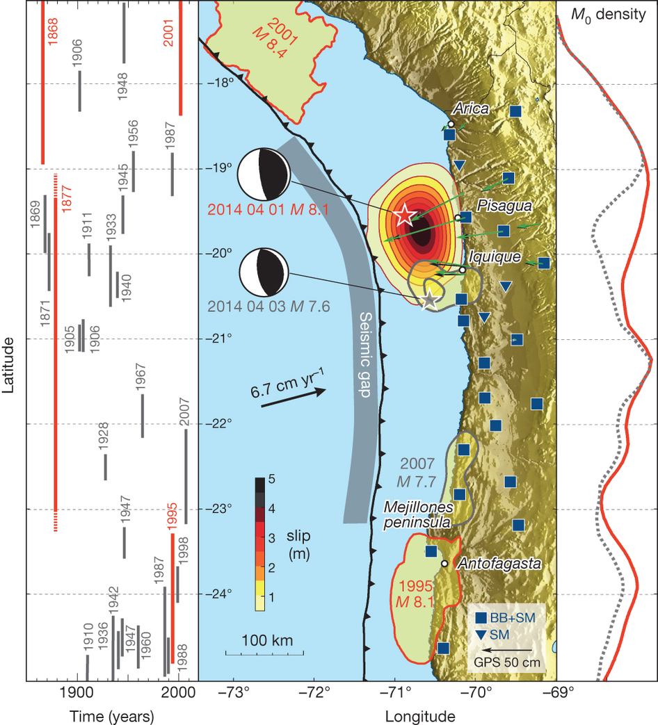 1960 Chile Earthquake Map.Earthquake Report Chile Jay Patton Online