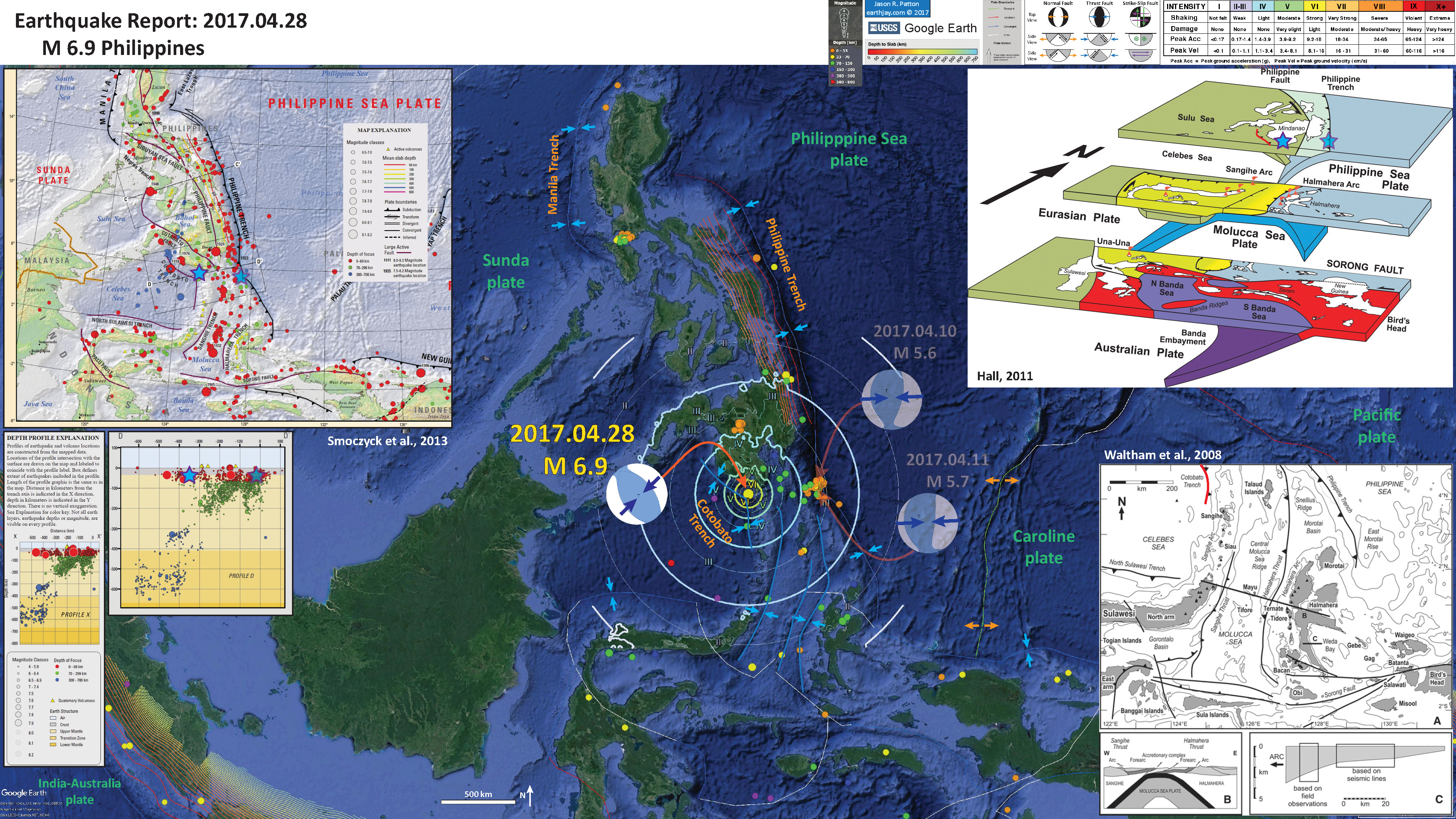 List of earthquakes in the Philippines