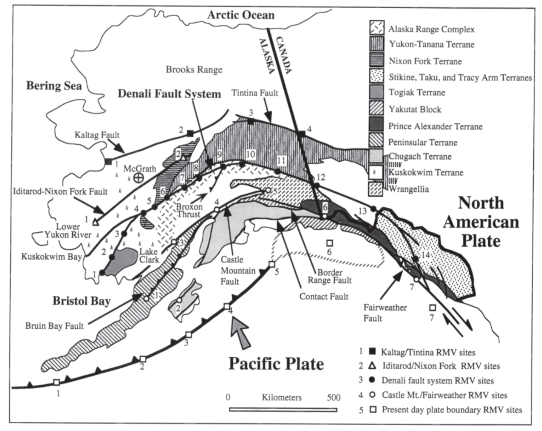 Earthquake Report Denali Fault British Columbia Jay Patton Online - Fault lines in georgia
