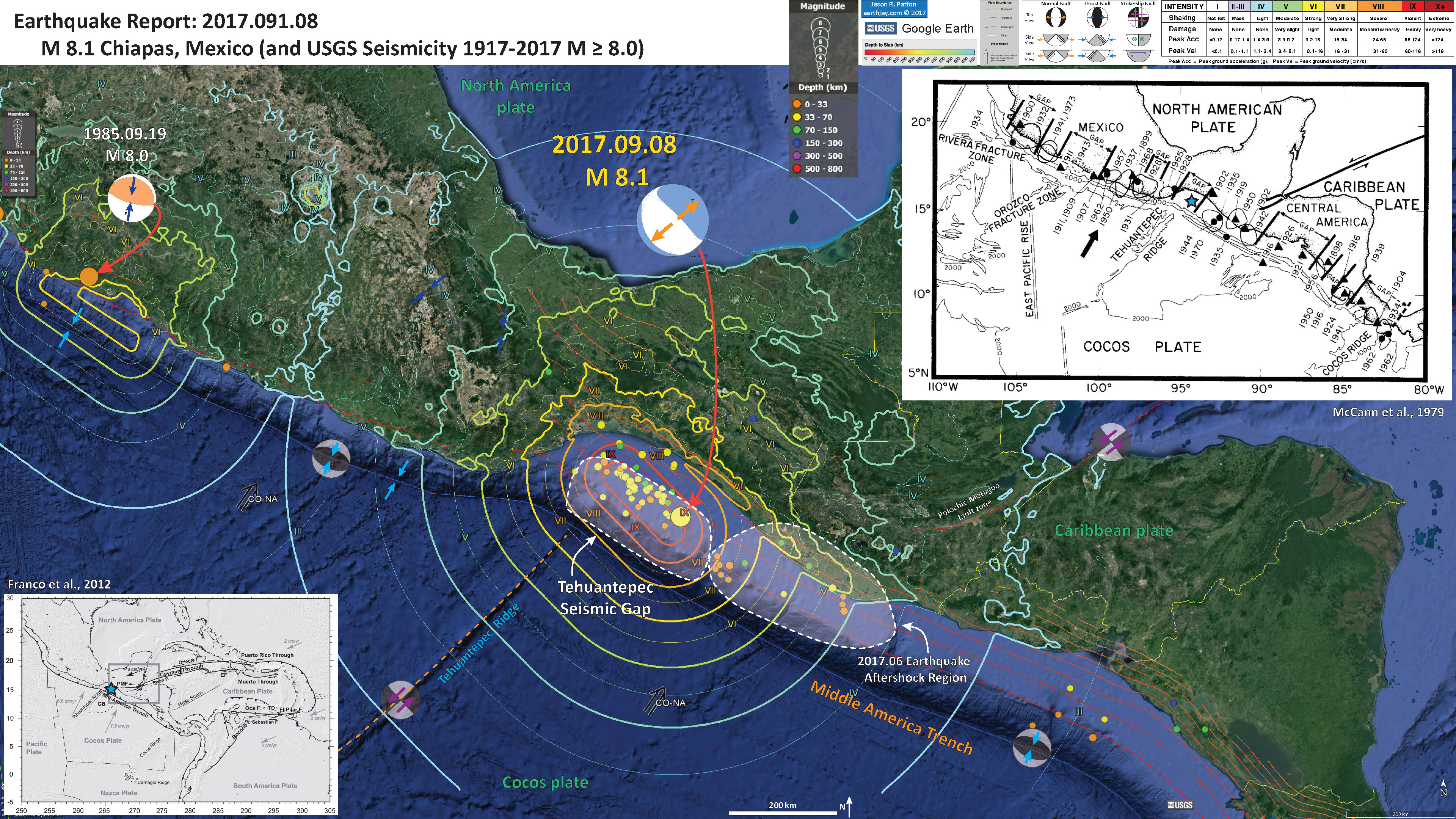 this is the first acknowledgement for the potential of a seismic gap in the region of todays m 81 earthquake