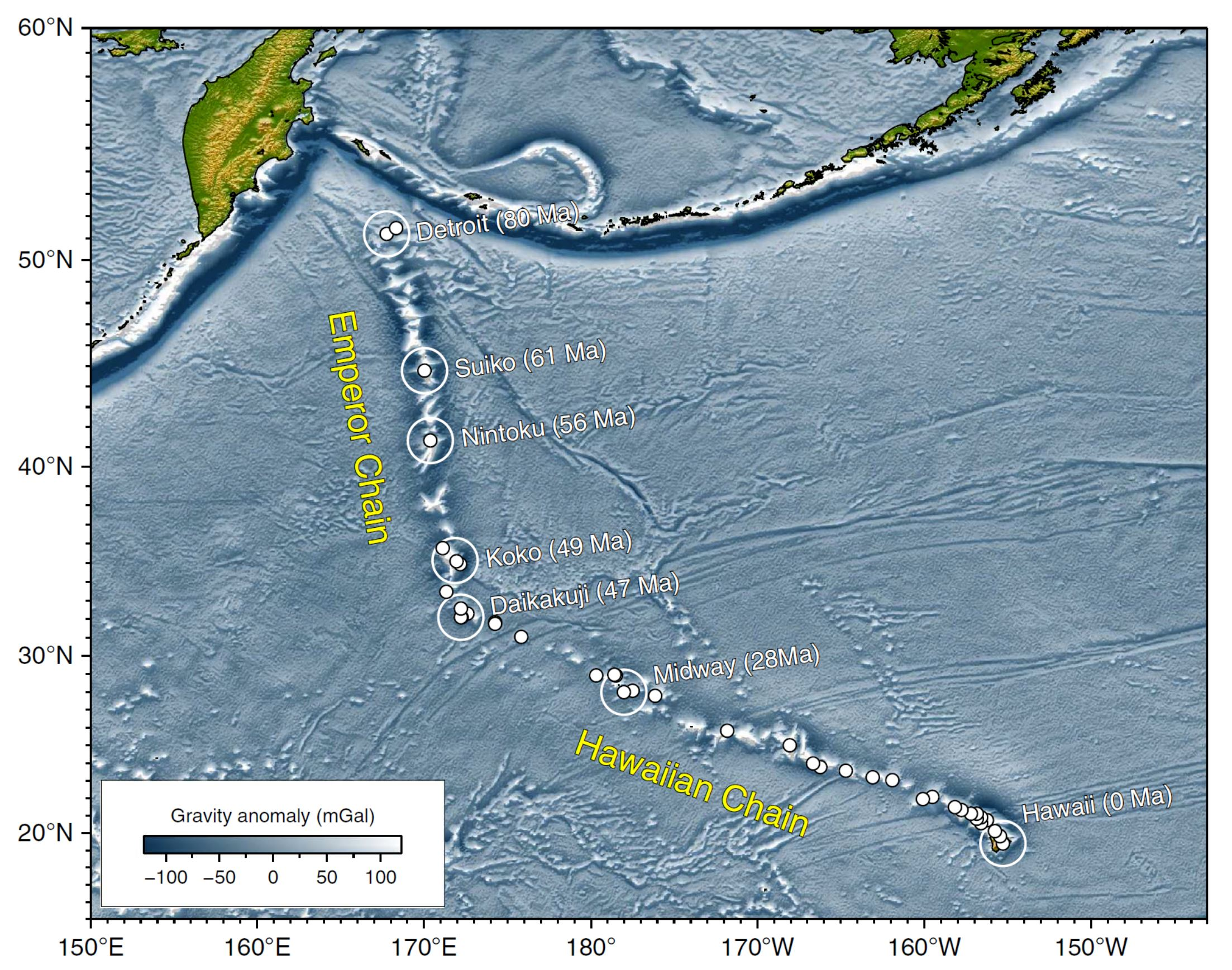 Jay Patton Online The Center Body And Range Of Technically Lg Led 29 Mt 47 A White Dots Are Locations Radiometrically Dated Seamounts Atolls Islands Based On Compilations Doubrovine Et Al Oconnor