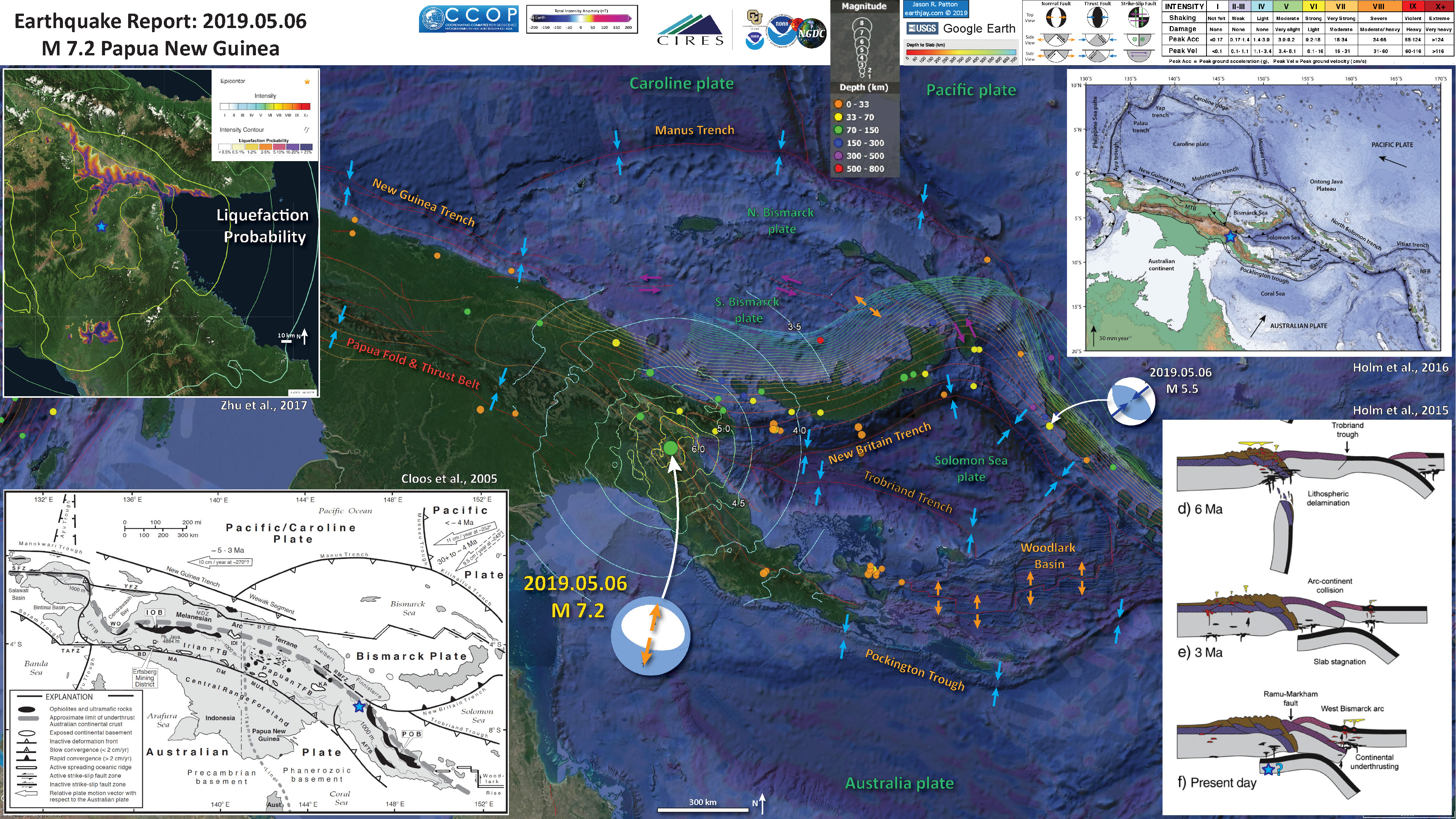 Earthquake Report: Papua New Guinea | Jay Patton online