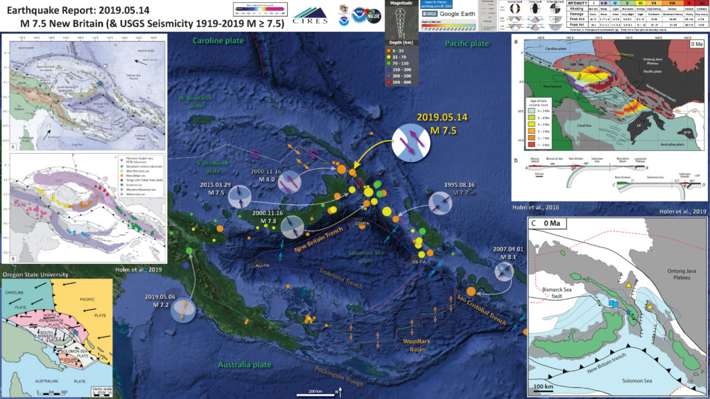 Earthquake Report: New Ireland | Jay Patton online