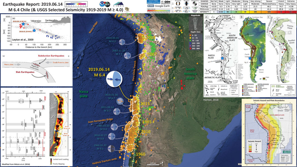 Earthquake Report: Chile | Jay Patton online